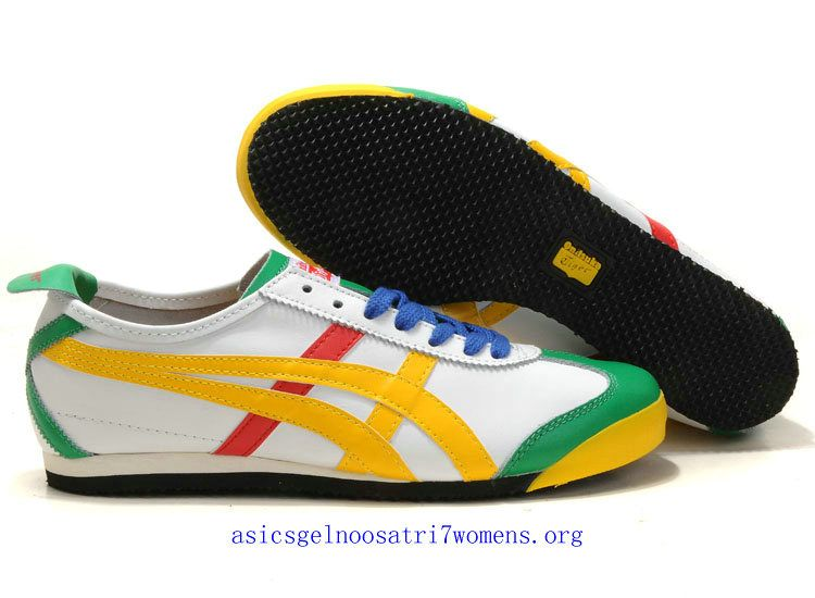 20a3bac7627f court green yellow white red asics onitsuka tiger kanuchi thl202 1209