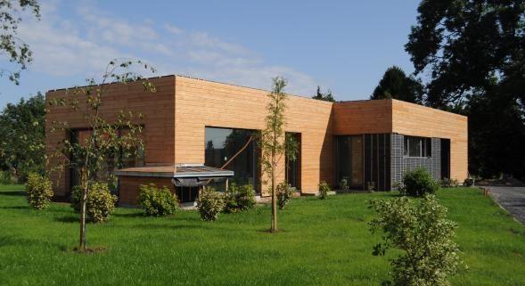 Bardage Tremolo en Douglas #bois #façade #revêtement #contemporain