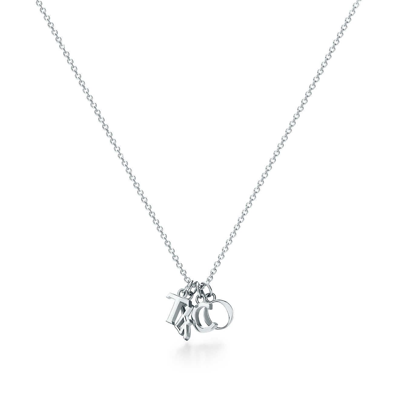 22dfab9e6 Tiffany Charms Love Notes T&CO. dangle pendant in sterling silver.