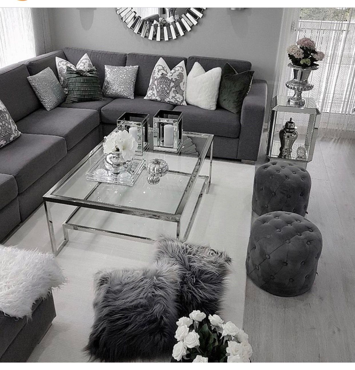 Pin by Sarah on Decor  Living room decor gray, Living room decor