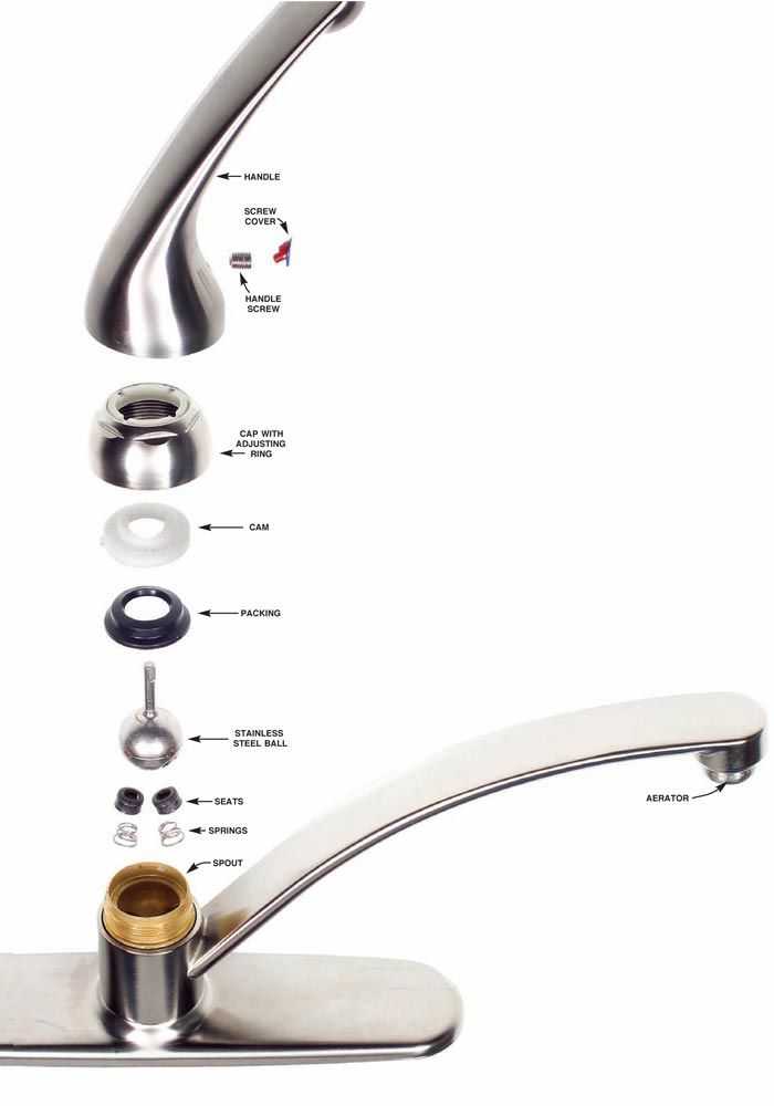 How to Fix a Leaky Faucet | Cleaning | Pinterest | Leaky faucet ...