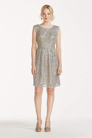 Short And Sweet This Shimmering Cap Sleeve Dress Is Perfect For Any Occasion