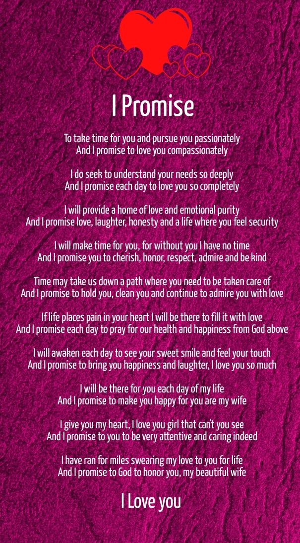 Short Love Poems For Wife From Husband