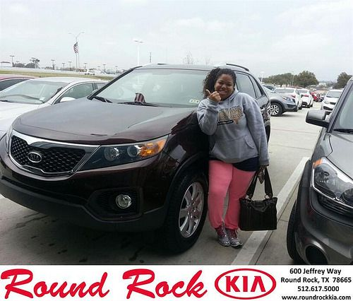 Thank you to Lois Coe on your new 2011 #Kia #Sorento from Rudy Armendariz and everyone at Round Rock Kia! #NewCar