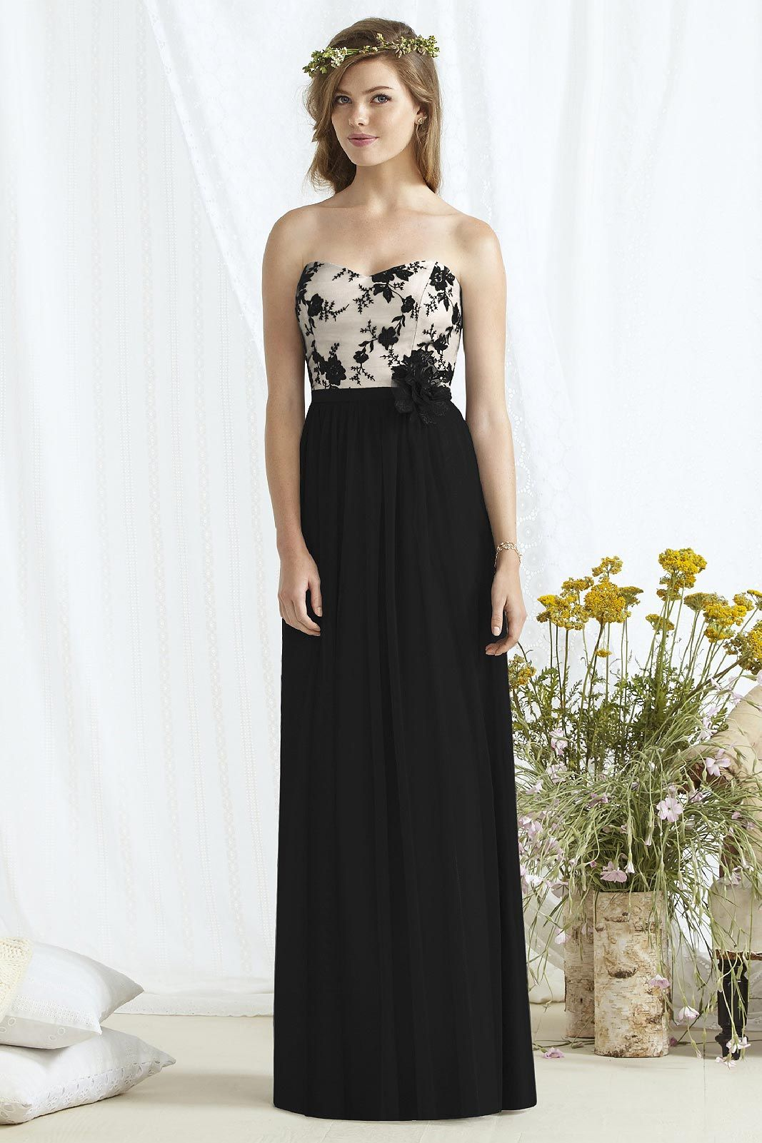 8171 by dessy social bridesmaids shopjoielle bridesmaid best online price and quick delivery for this dessy social bridesmaids 8171 dress featuring fleur embroidery over a stretch lining a strapless bodice ombrellifo Choice Image
