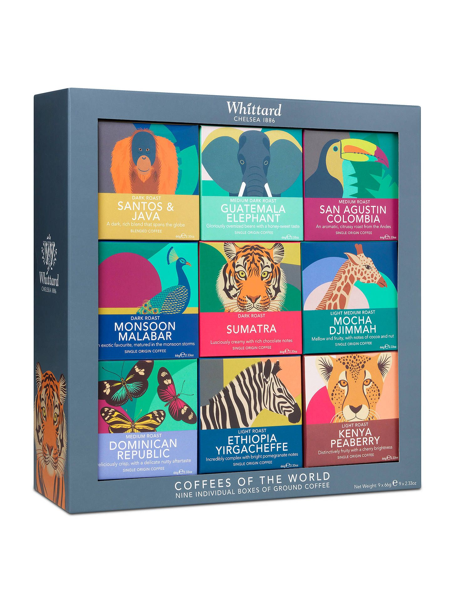 Whittard Coffees of the World, 594g Coffee gift sets