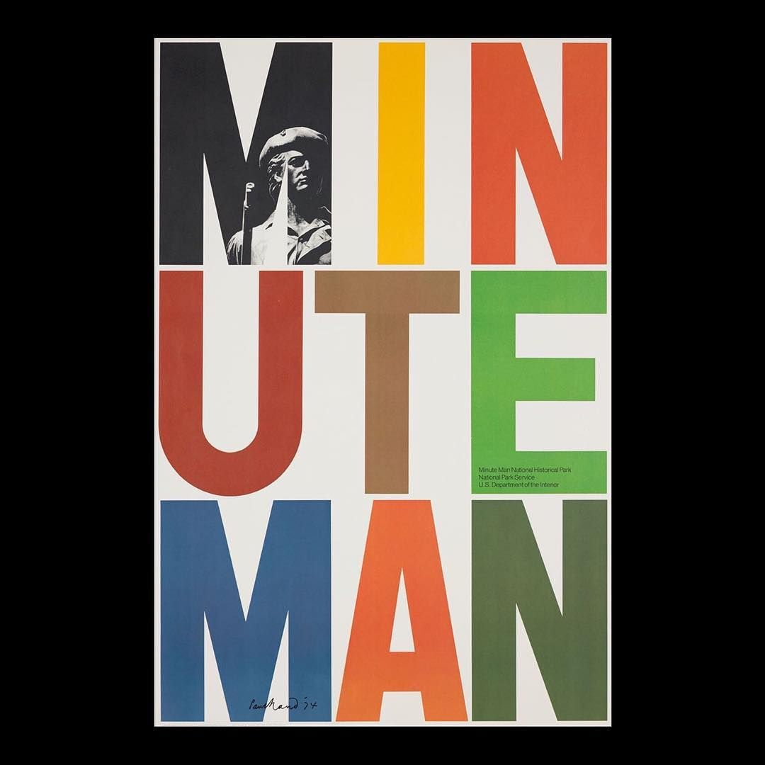 By Paul Rand, Minute man National Historical Park Service