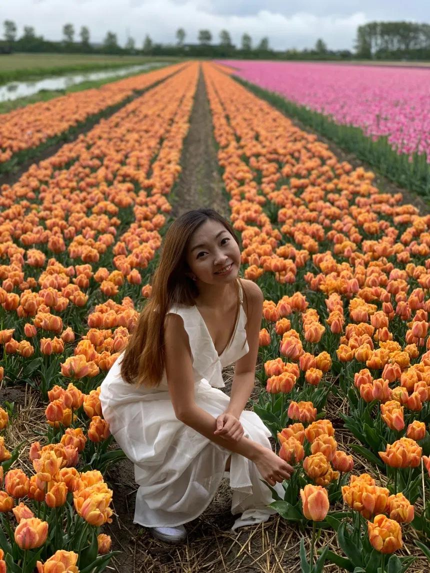 Lisse Tulips Heaven At Fam Flower Farm Salseralove Flower Farm Tulips Perfect Climate