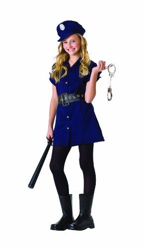 Size 12 Girls Halloween Costumes.Rg Costumes In The Line Of Duty Child Large Size 10 12 Rg Costumes Http Www Amazon Com Dp B001b3ttdo Dress Up Outfits Police Halloween Costumes Girl Outfits