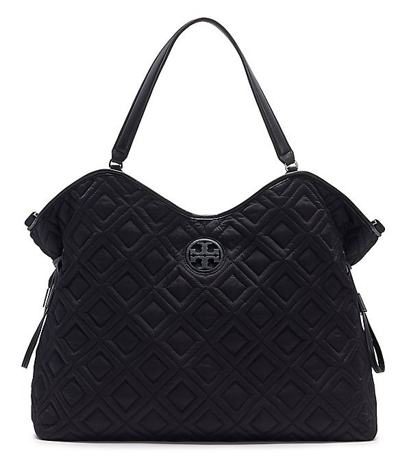 Tory Burch Marion Quilted Slouchy Baby Bag Dream