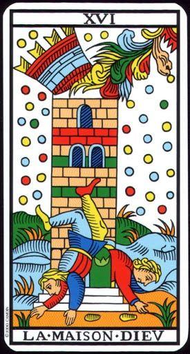 Hồi Hộp La Xvi The Tower Tarot Of Marseilles Bai Tarot