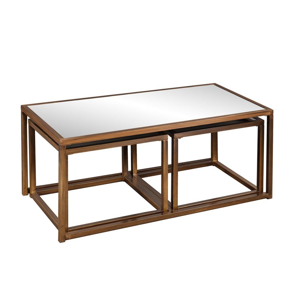 Boston Loft Furnishings Atg7404 Alden Cocktail End Table Set Of 3 Atg Stores 3 Piece Coffee Table Set Nesting Coffee Tables Mirrored Coffee Tables [ 1000 x 1000 Pixel ]