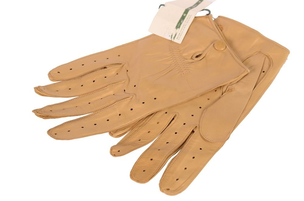 4ede0538a410c2 LUIGI BORRELLI Handmade Tan Soft Napa Leather Unlined Driving Gloves NEW US  2XL  fashion  clothing  shoes  accessories  mensaccessories  glovesmittens  (ebay ...
