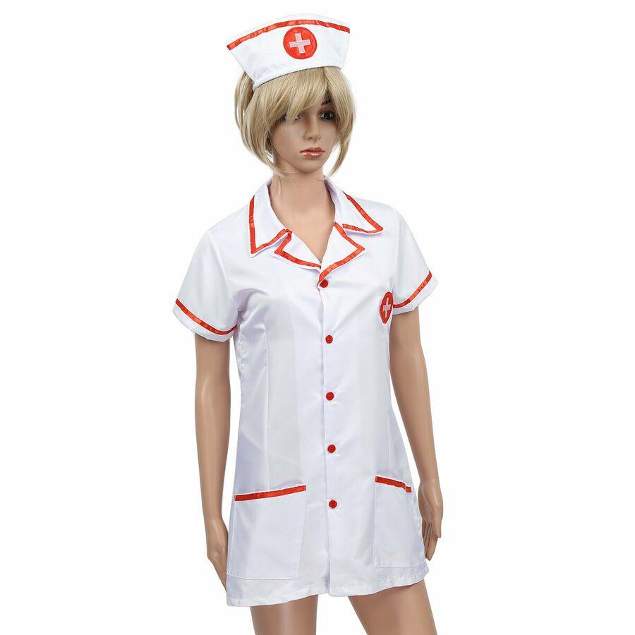 Nurse Fancy Dress Cosplay Costume