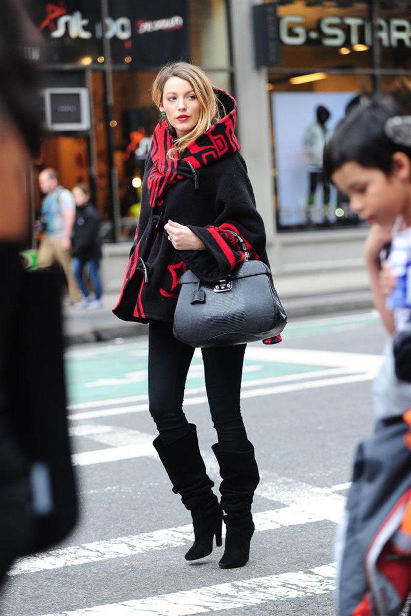 a1dab1215e Blake Lively Pregnancy Style - Blake Lively Fashion - Elle