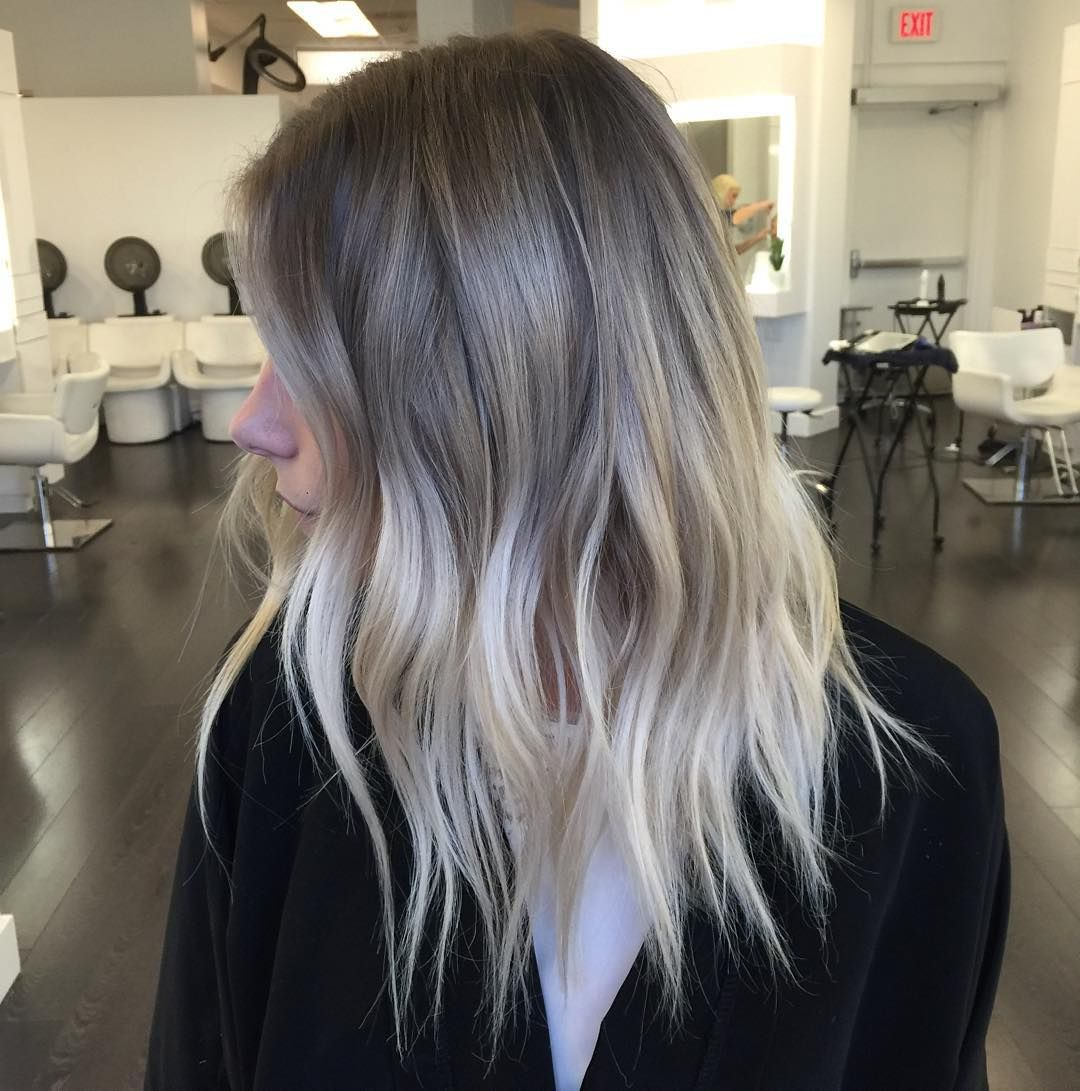 balayage hair color ideas with blonde brown caramel and red