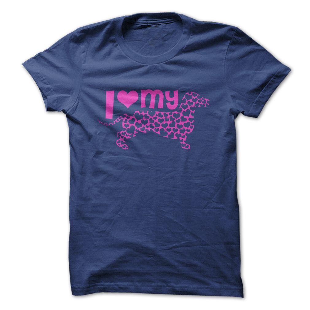 Love Dachshund #pet #tshirt