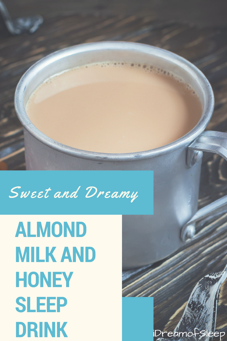 a non-dairy take on a warm milk sleep drink | natural remedies