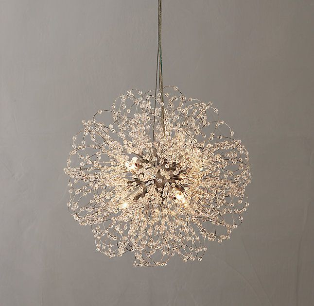 Very beautiful round small crystal chandelier lighting pinterest very beautiful round small crystal chandelier mozeypictures Choice Image