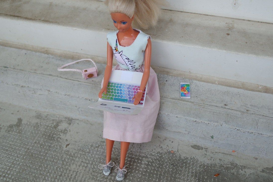 Challenge dolls, couture et DIY : Barbie version geekette #dollscouture