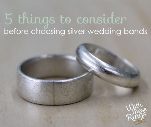 The Pros And Cons Of Silver Wedding Bands Silver Wedding Bands Silver Wedding Rings Silver