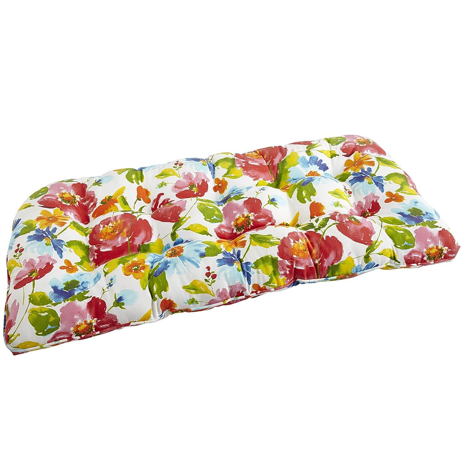 20 floral outdoor bench cushions ideas