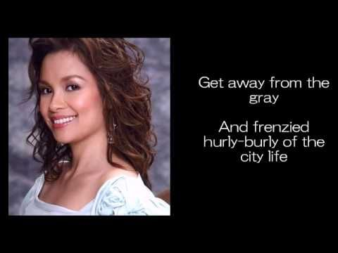 Can We Just Stop And Talk Awhile By Lea Salonga Youtube Lea Salonga Lea Just Stop