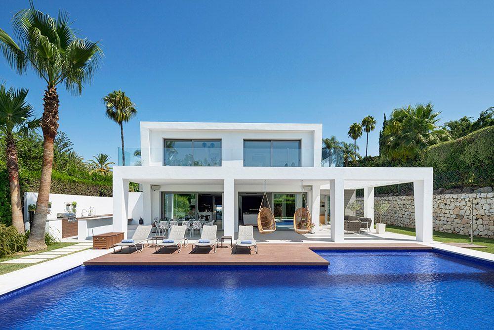 Modern Villa Las Brisas Nueva Andalucia Marbella Marbella Marbella Property House
