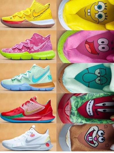 Fuerza motriz circulación pellizco  Nuevos Nike Kyrie Irving edición Bob Esponja - El124 | Zapatillas de  baloncesto nike, Zapatillas nike basketball, Zapatillas de baloncesto