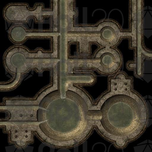 Virtual Tabletop Dungeon Maps