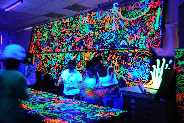 Black Light Painting Blacklight Party Graffiti Party Neon Party