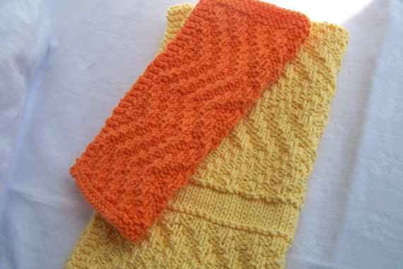 Three Zany Zigzag Washcloths Towels & Soap Saver Patterns ...