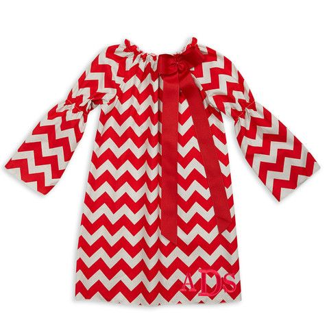 ef8145b9dd309 Lolly Wolly Doodle kids Christmas clothing. Girl's Red Gray Chevron Long  Sleeve Charlotte Dress. lollywollydoodle.com