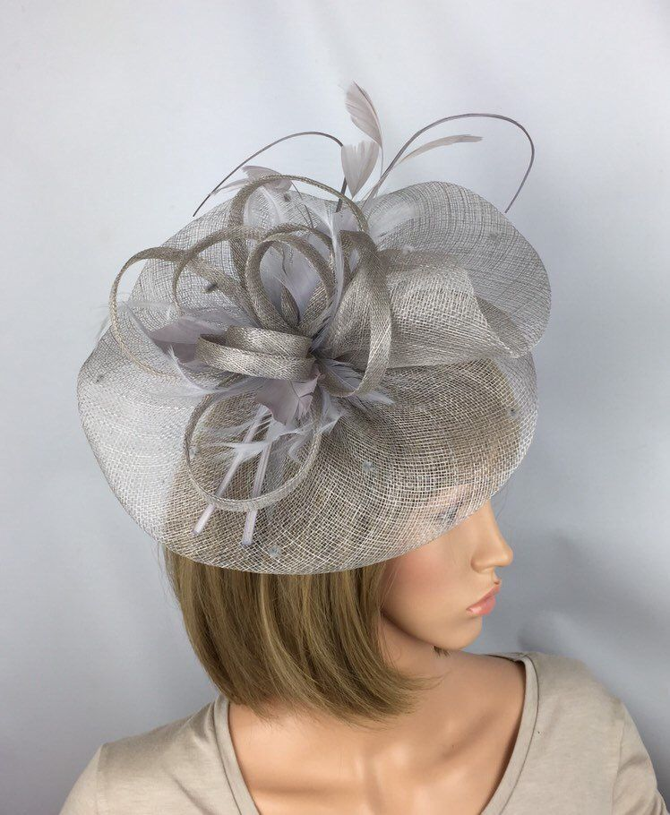Fascinator Hat Hatinator Large Alice Band Hat Wedding Races Form Occasion Ascot