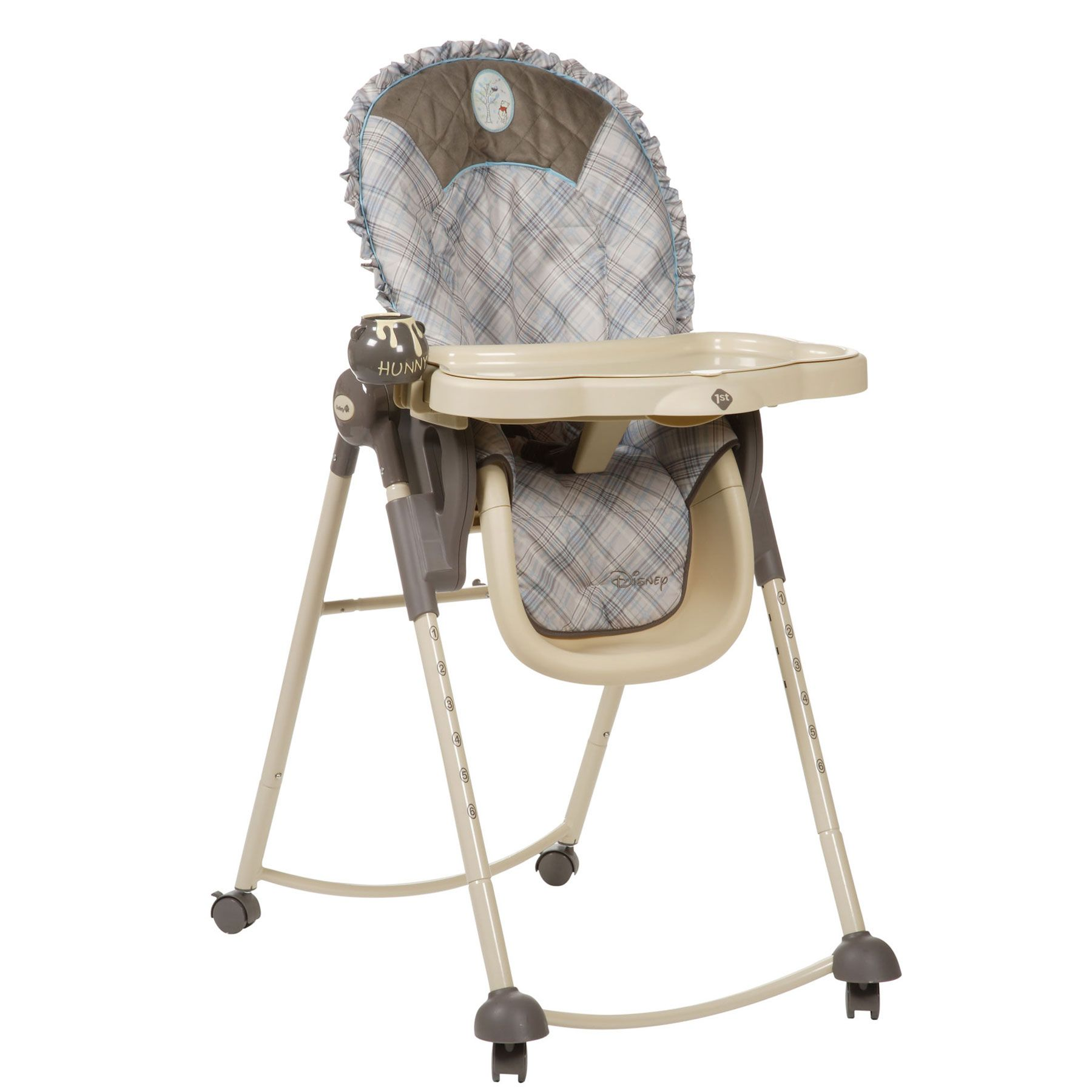 My Friend Pooh Serve N Store™ High Chair from Safety 1st