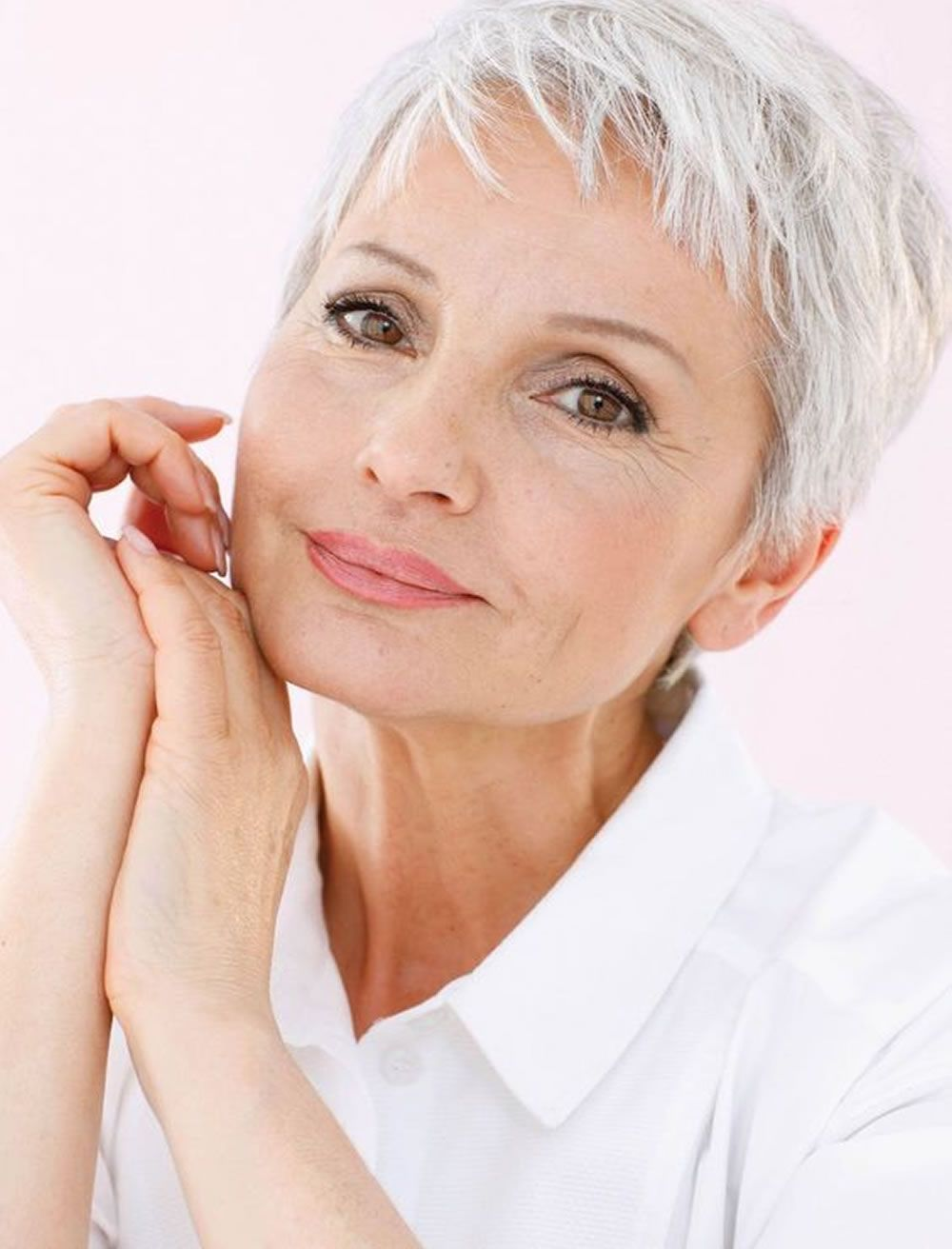 short haircuts for older women over u useful hair