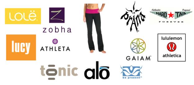 41+ Yoga clothing brands logos ideas