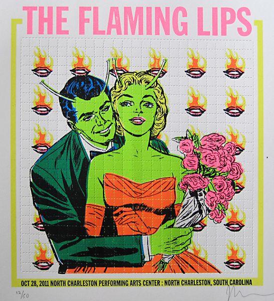 Flaming Lips - Gig Poster