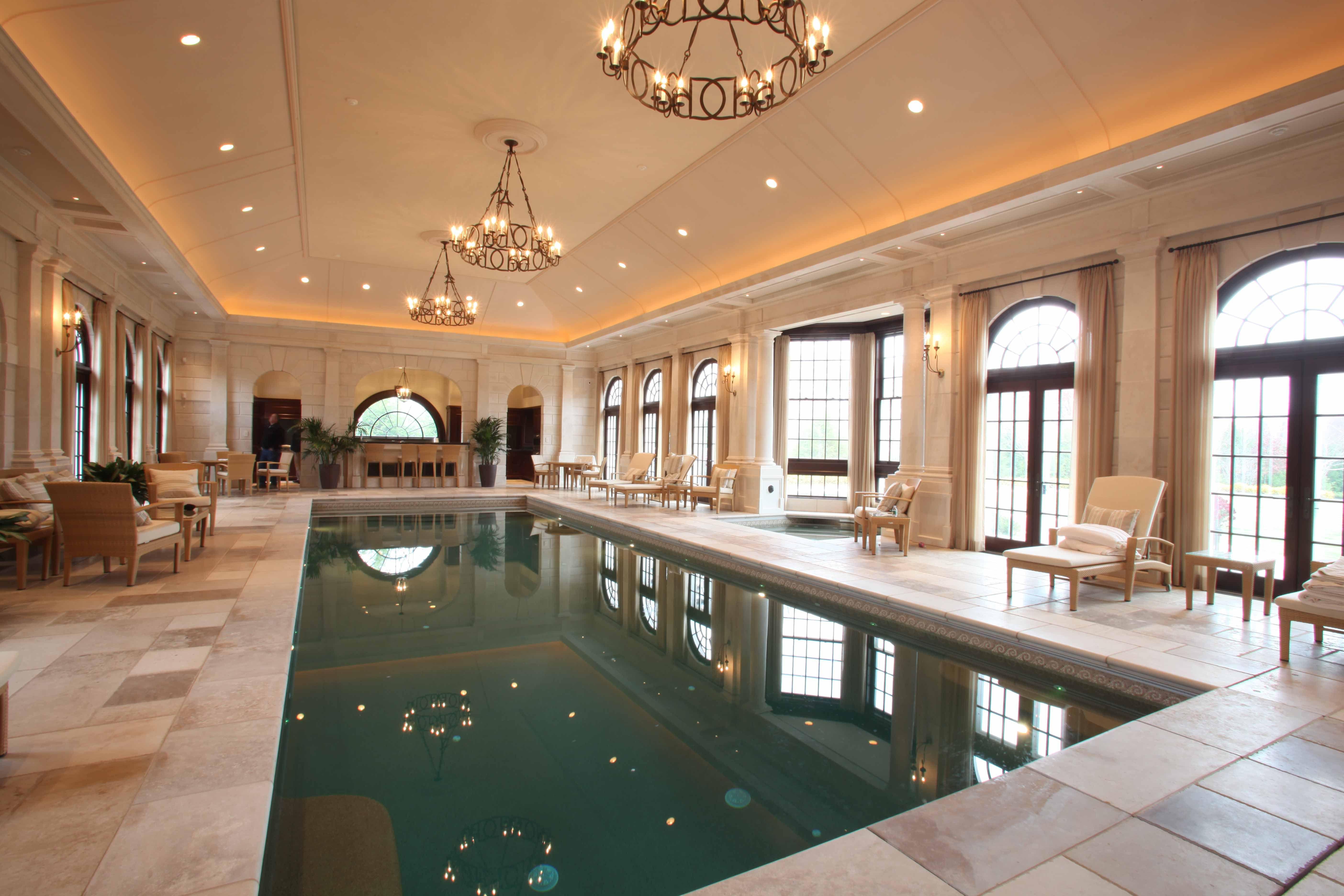 Indoor Pools Residential: Luxury Residential Indoor Pool ...