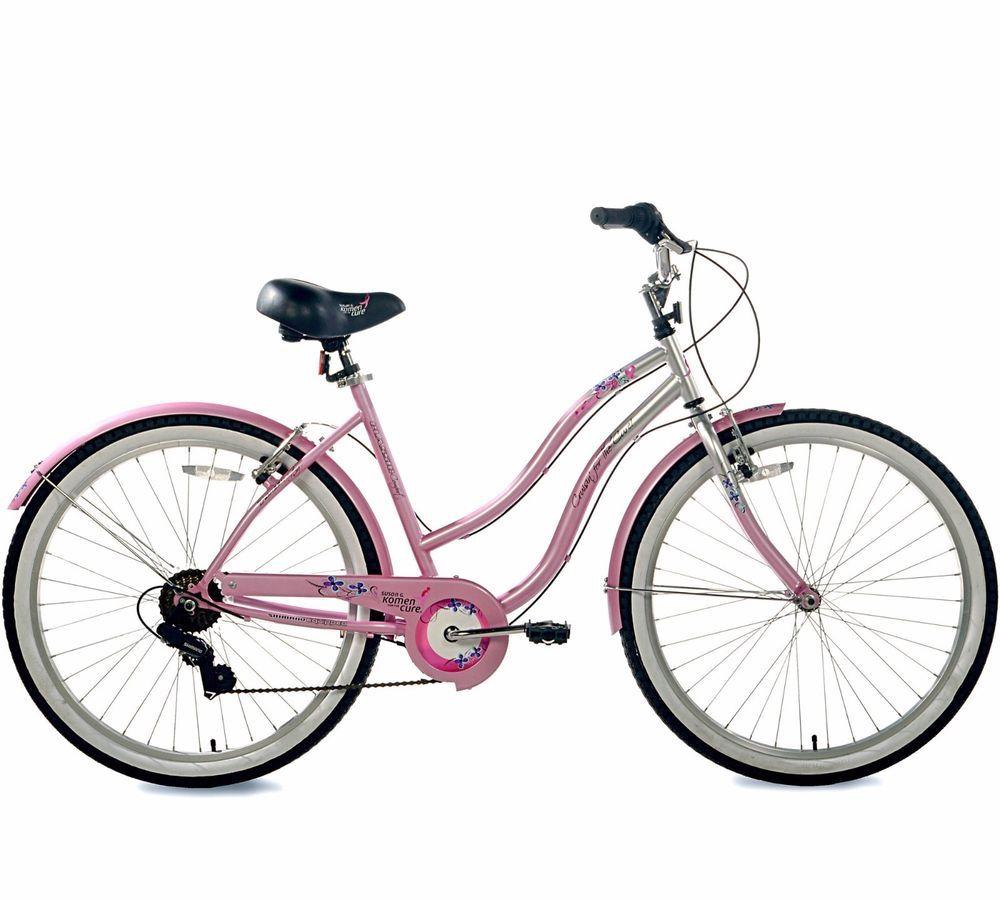26 Women S Cruiser Bike Bicycle Steel Frame Rear Coaster Brake Multi Speed Ride Kent Cruiser Bike Womens Bike Comfort Bike