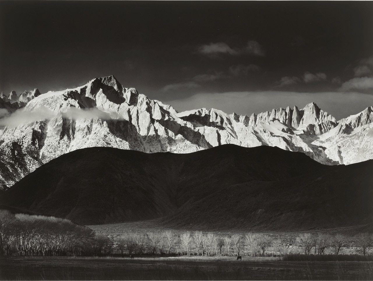 www.Filson.com | Sierra Nevada, from Lone Pine, California - Photo ...