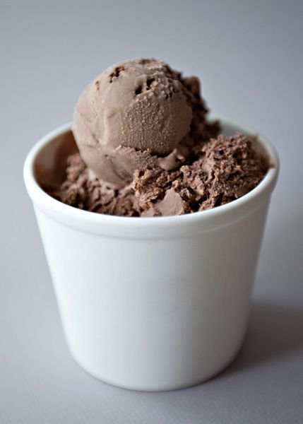 Homemade chocolate ice cream recipe without heavy