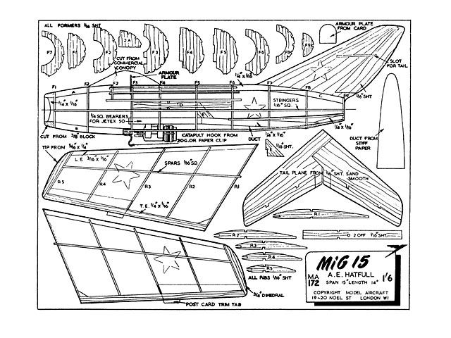 Outerzone Searchable Database Of Free Model Aircraft Plans