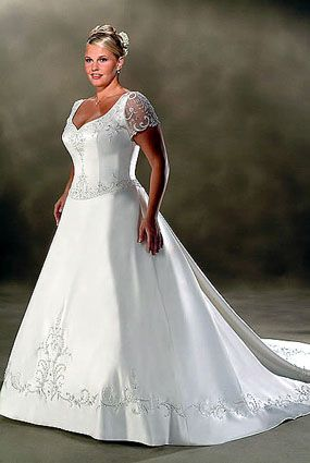 Wedding Dress For Full Figured Women