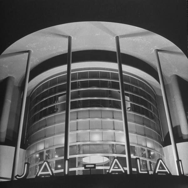 The famous Jai Alai building Manila 1942