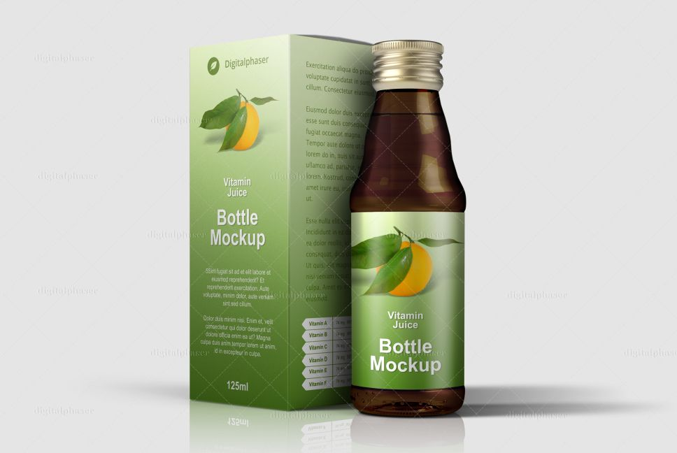 Download Health Product Packaging Mockups Juice Packaging Drug Packaging Juice Vitamins
