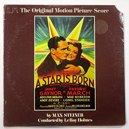 STAR IS BORN (MOTION PICTURE SCORE LP, 1975)