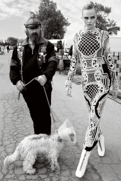 Cara Delevingne - Vogue UK, November 2012