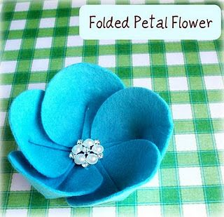 felt flowers