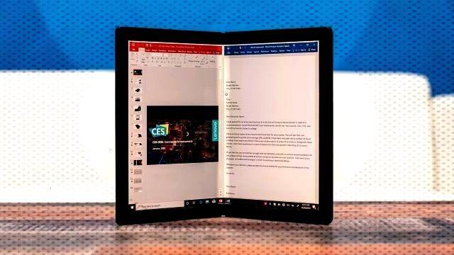 Lenovos ThinkPad X1 Fold Is the First Foldable Windows Tablet -